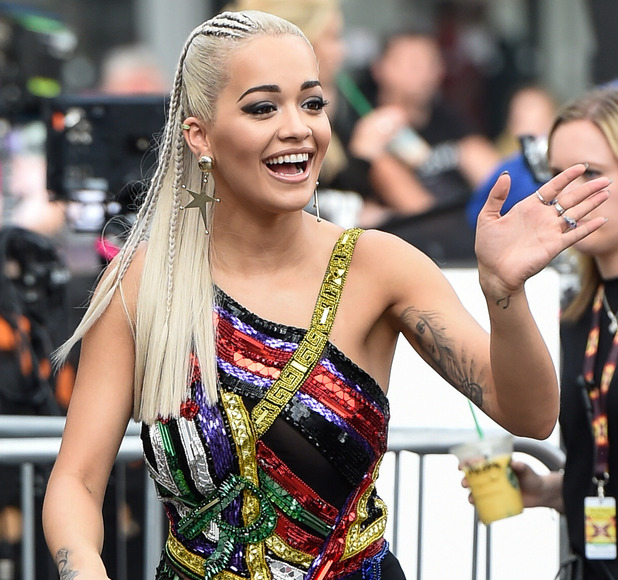 Rita Ora at X Factor auditions in London, 16 July 2015