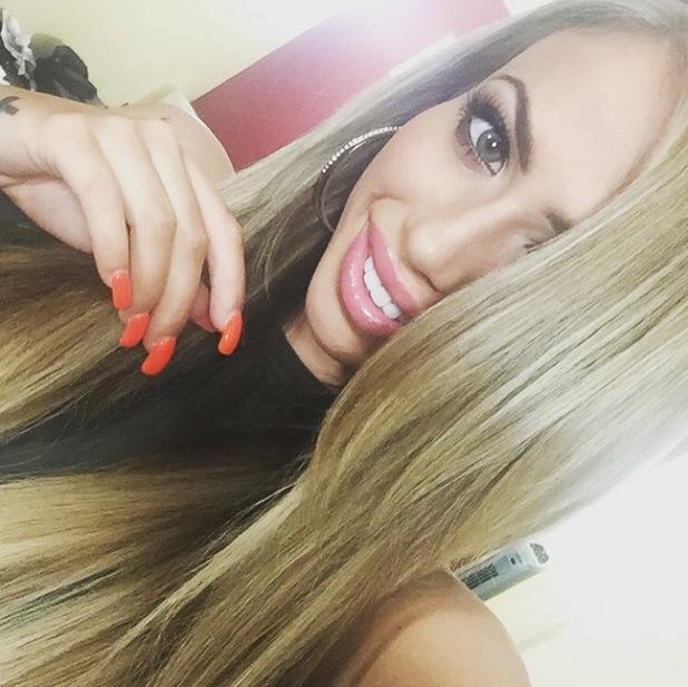 Holly Hagan shows off blonder hair 11 July