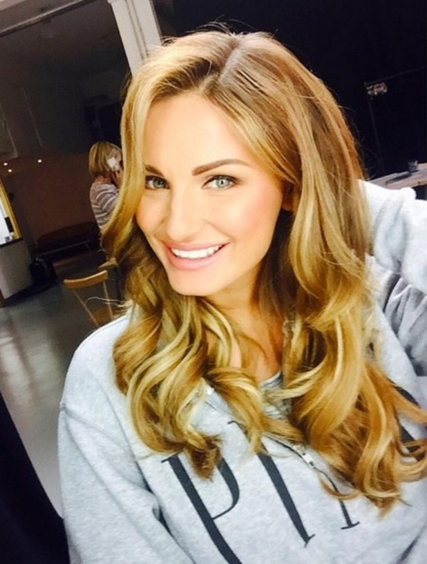 Sam Faiers shows off glamorous hair transformation on Instagram, 13th June 2015