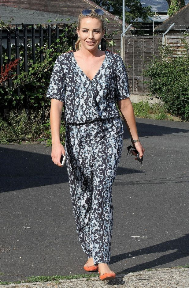 Lydia Bright out and about, London- 11th July 2015