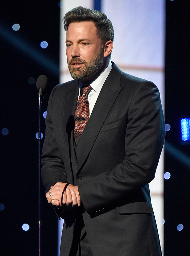 Ben Affleck speaks onstage during The 2015 ESPYS at Microsoft Theater on July 15, 2015 in Los Angeles, California. (Photo by Kevin Mazur/WireImage)