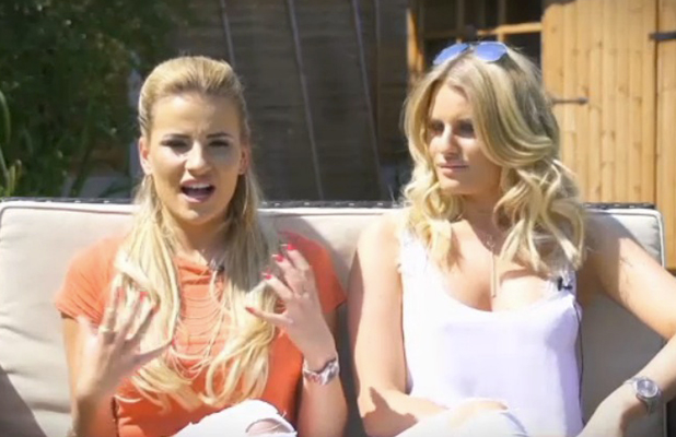 TOWIE official website Danielle Armstrong and Georgia Kousoulou