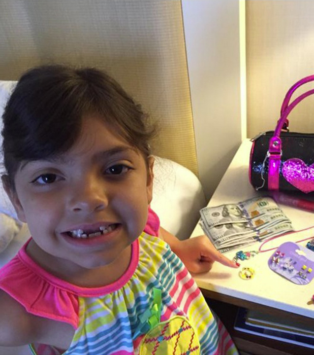 Farrah Abraham's daughter gets $600 from tooth fairy