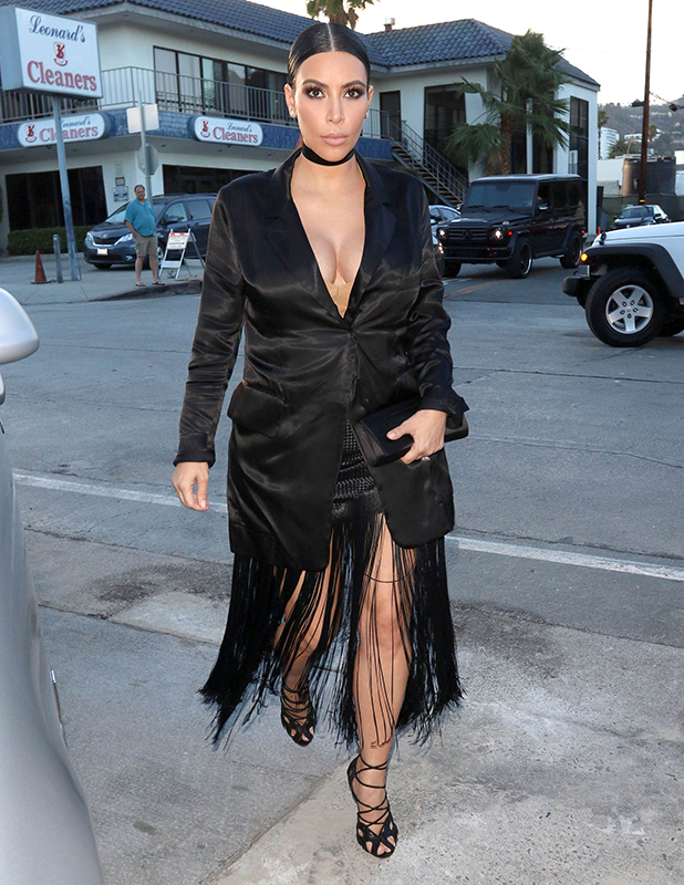Kim Kardashian is seen on July 13, 2015 in Los Angeles, California. (Photo by KeithJMA/Star Max/GC Images)