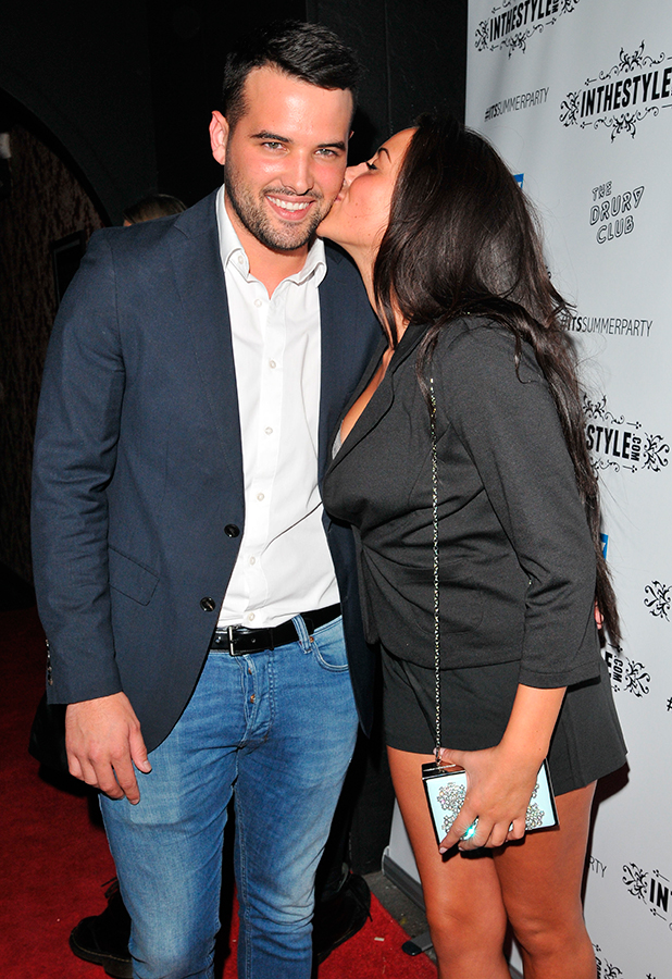 In the Style x Summer Party at The Drury Club - Outside Arrivals Ricky Rayment and Marnie Simpson 16 July 2015