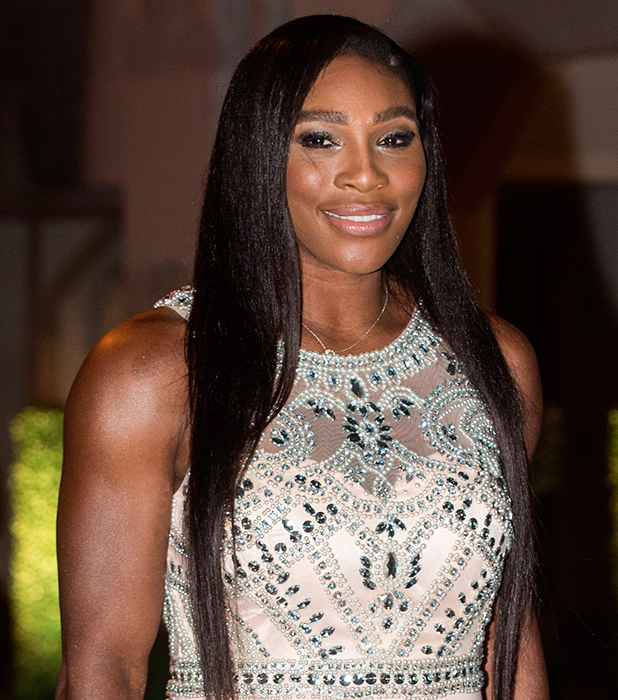 Wimbledon Champions' Dinner held at the Guildhall Serena Williams