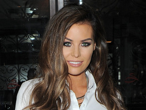 TOWIE's Jess Wright at charity event party in London, 22nd July 2015