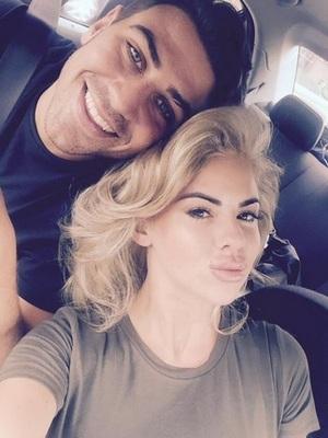 Hannah Elizabeth and Jonathan Clark reunite in Essex 20 July