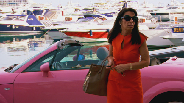Life On Marbs: Lina Hodgkins arrives to work - 22 July 2015.