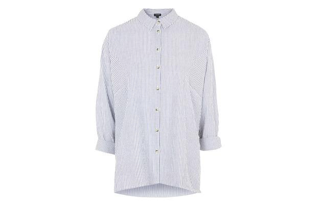 Topshop Oversized Shirt £35, 21st July 2015