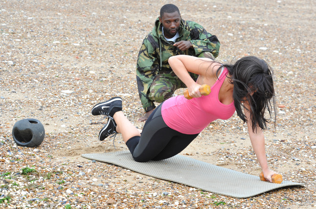Vicky Pattison attends No 1 Bootcamp in Norfolk 10 July