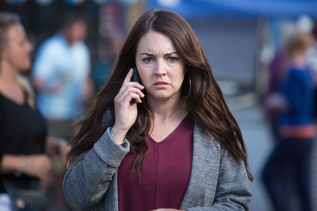 EastEnders, Stacey gets a phone call, Tue 28 Jul