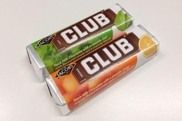 McVitie's Club Bars