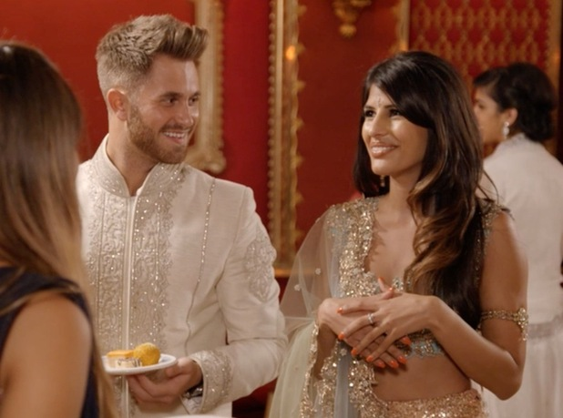 Still from the first Desi Rascals episode featuring Jasmin Walia and Ross Worswick, 22nd July 2015