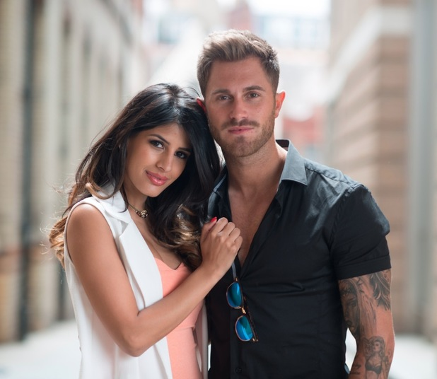 Promotional images for Desi Rascals featuring Jasmin Walia and Ross Worswick, 22nd July 2015