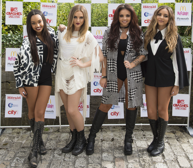 Little Mix at the MTV Crashes Plymouth Concert in Plymouth, 22nd July 2015