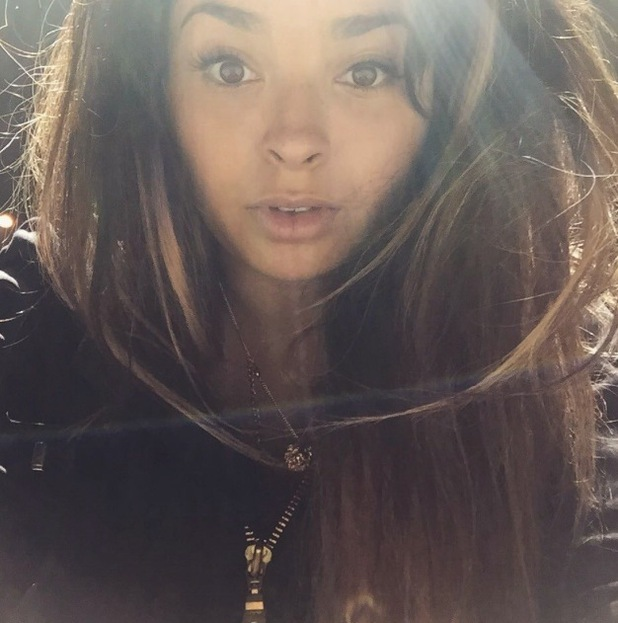 Ella Eyre straightens her hair and shares selfie on Instagram 20th July 2015