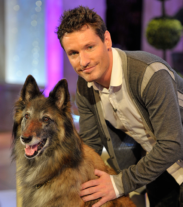 Dean Gaffney and Wellard (the dog) were reunited on the show after several years apart. 16 Feb 2010