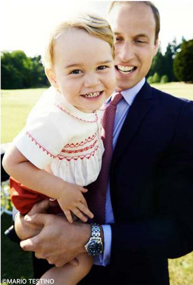 Prince George turns two: picture taken by Mario Testino