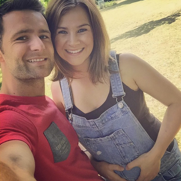 Harry Judd's wife Izzy is pregnant July 2015