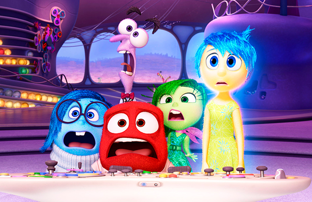 'Inside Out' film - 2015 Phyllis Smith, Lewis Black, Bill Hader, Mindy Kaling, Amy Poehler