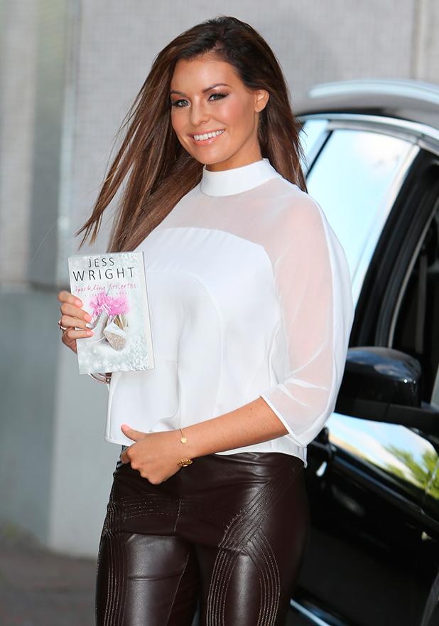 Jessica Wright outside ITV Studios 21 July 2015