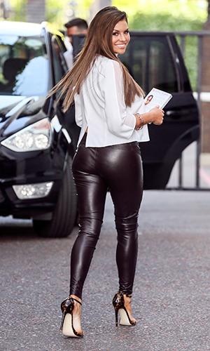 Jessica Wright seen leaving ITV Studios in London, 21 July 2015