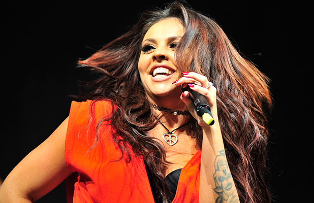 Jesy Nelson of Little Mix announced her engagement to Jake Roche from the band Rixton On stage Key 103, 19 July 2015