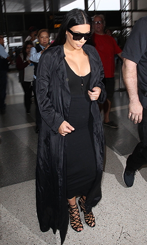 Kim Kardashian is seen on July 19, 2015 in Los Angeles, California. (Photo by SMXRF/Star Max/GC Images)
