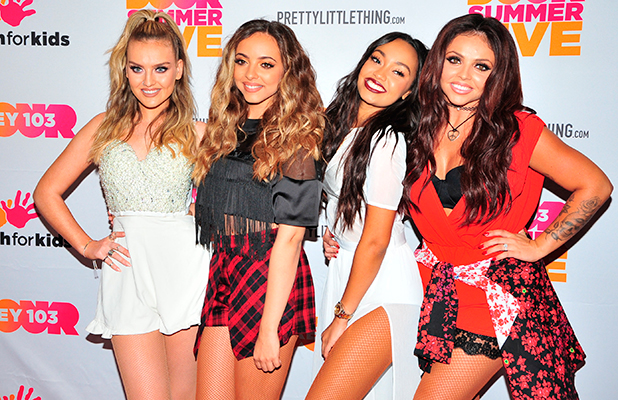 Little Mix, Jade Thirlwall, Perrie Edwards, Leigh-Anne Pinnock, Jesy Nelson at Key 103 19 July 2015