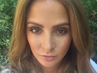 Millie Mackintosh embraces the fake freckles beauty trend