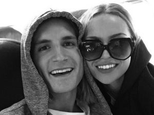 Proudlock and his girlfriend Emma Connolly preparing to take off to Ibiza June 2015