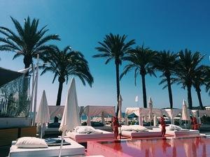 Proudlock and Emma Connolly at Ibiza hotel Thomson Scene June 2015