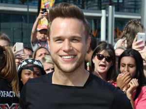 Olly Murs at X Factor auditions in Wembley, London - 21 July 2015.