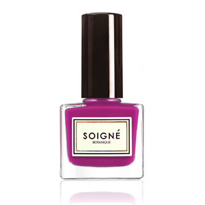Soigne nail varnish in Cherry Berry £11, 28th July 2015