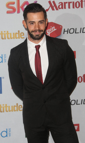 Ex TOWIE star Charlie King at the Attitude Awards - 13/10/2014.