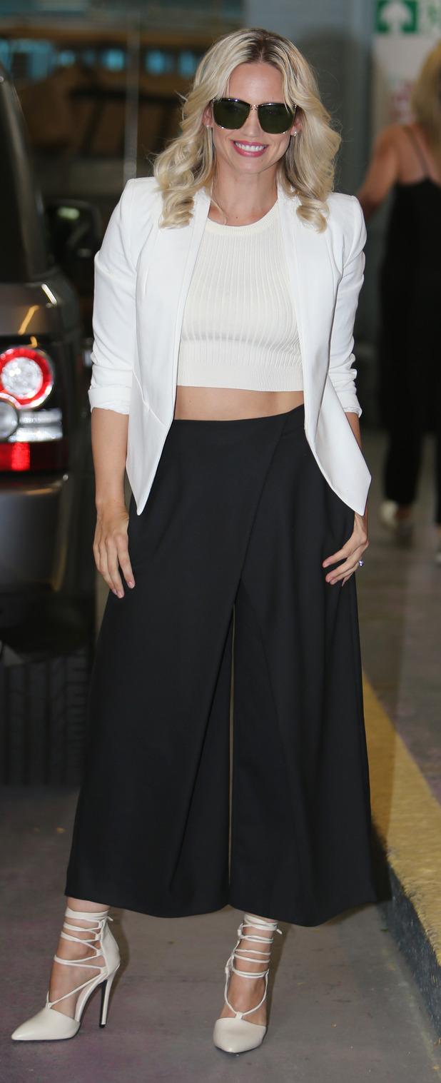 Kimberly Wyatt at ITV Studios in London 31st July 2015