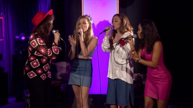 Little MIx perform on Radio 1 Live Lounge, 28th July 2015
