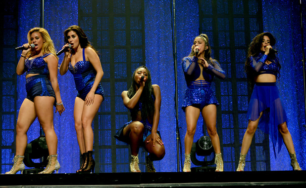 Fifth Harmony performing at The Fillmore Miami Beach, US 29 July