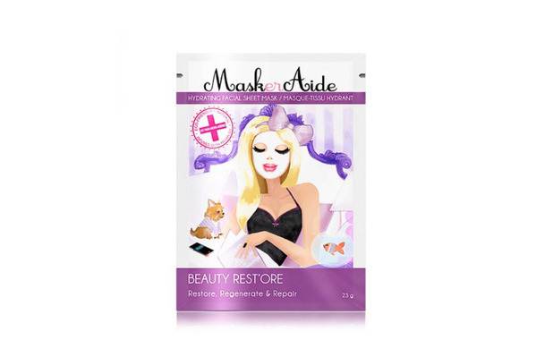 Maskeraide Hydrating Facial Sheet Beauty Mask Rest'ore, £5, 30th July 2015