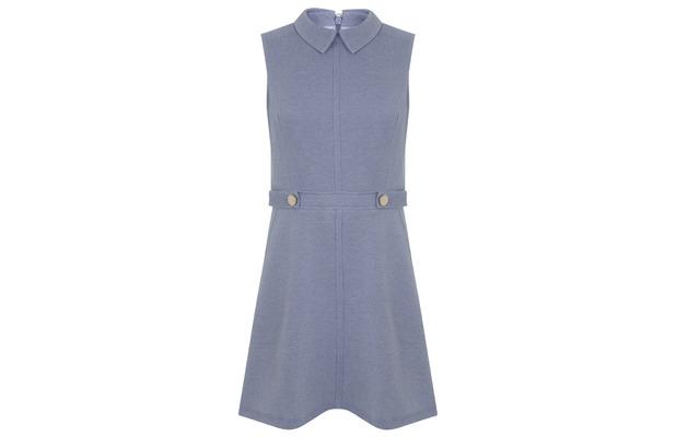 Miss Selfridge Chambray Flippy Hem Dress, £45, 29th July 2015