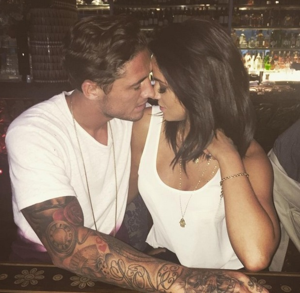 Vicky Pattison and Stephen Bear, Instagram 28 July