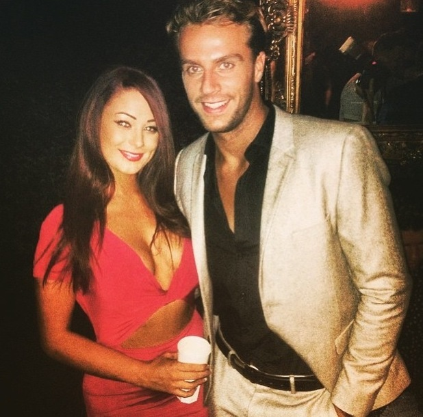 Jess Hayes and Max Morley at Luxe club, Essex 24 July