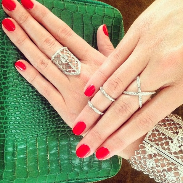 Ami Streets shares Soigne manicure on Instagram 28th July 2015