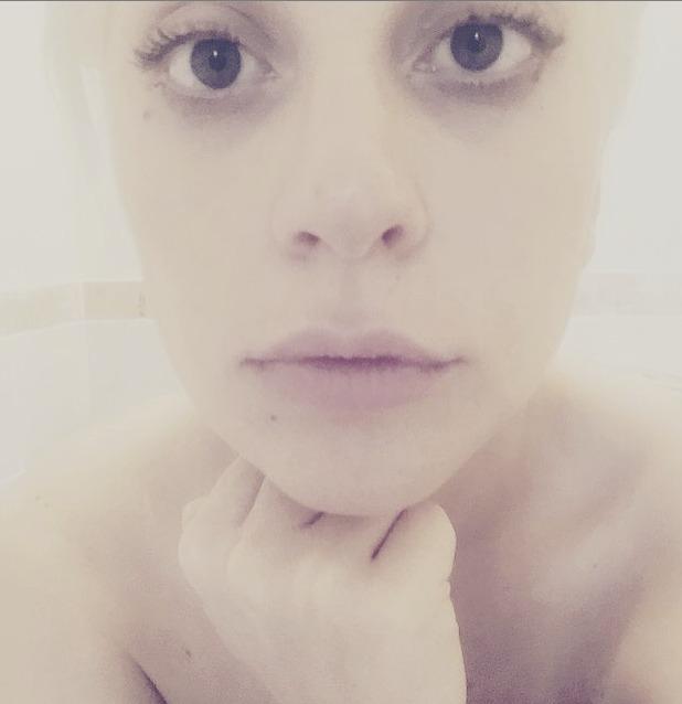 Lady GaGa morning-after make-up, 30 July 2015