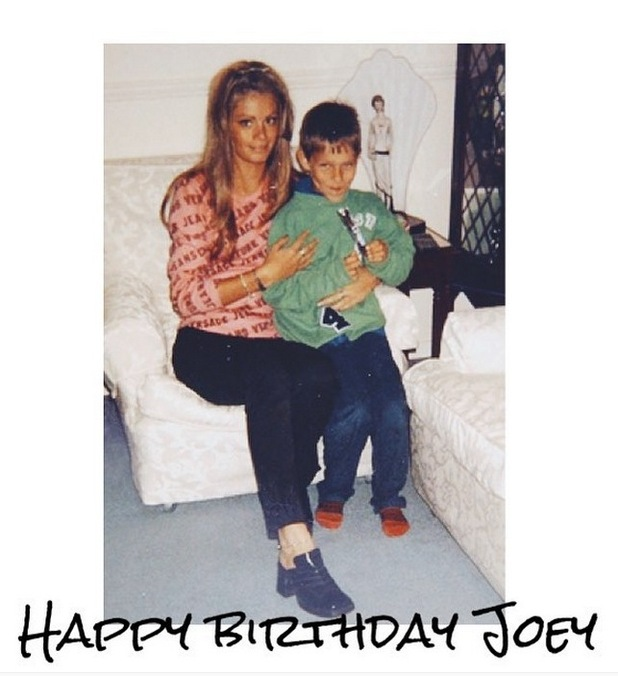Chloe Sims shares throwback with Joey Essex, 29th July 2015