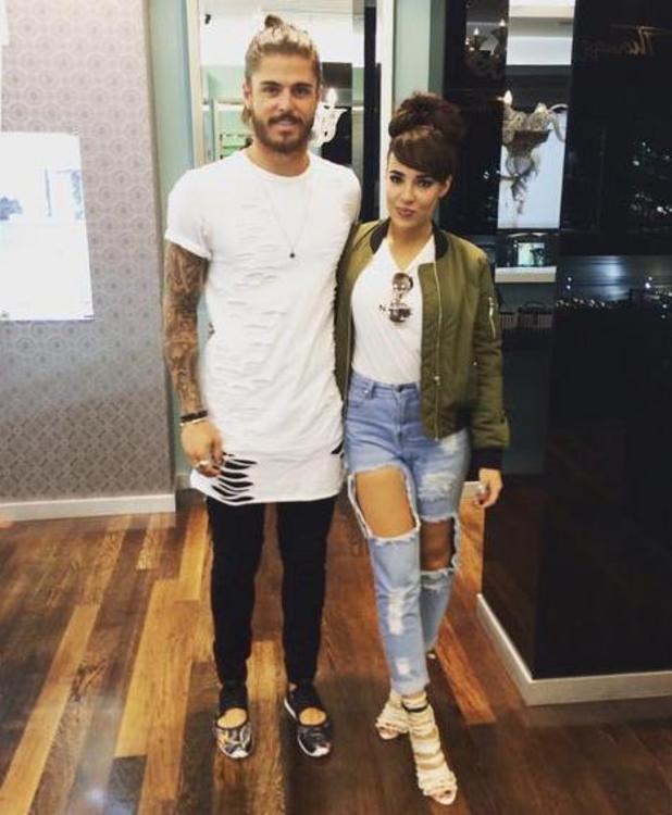 Stephanie Davis and Sam Reece, July 2015