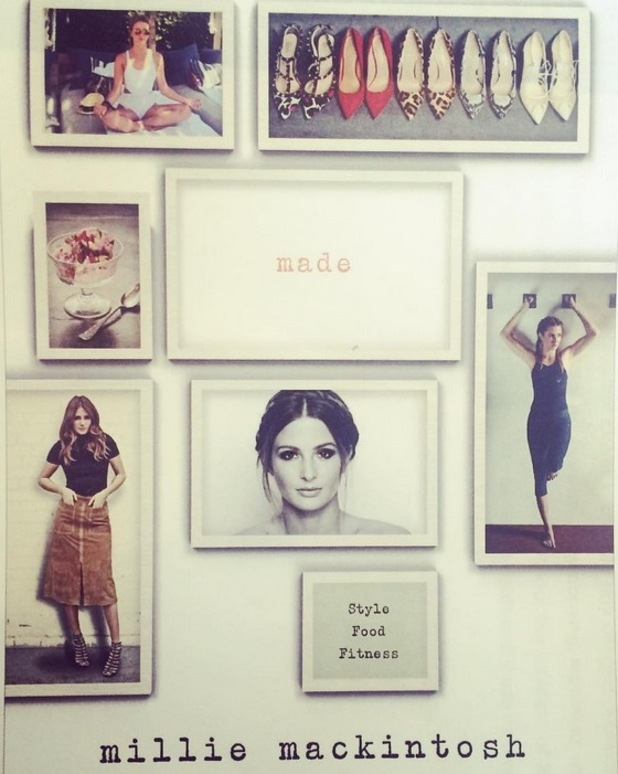 Millie Mackintosh shares a preview of pages from her upcoming book 'MADE', 28th July 2015
