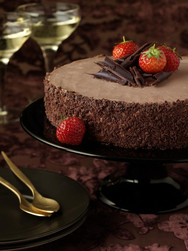 chocolate velvet torte