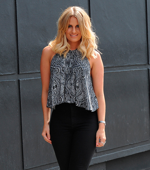 Danielle Armstrong is pictured out on July 5, 2015 in Chigwell, England. (Photo by SamanthaB/GC Images)